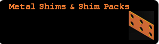 Shims and Shim Packs